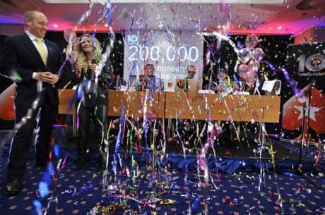 PokerStars slog världsrekord med 200,000 startande - Tog 7 timmar
