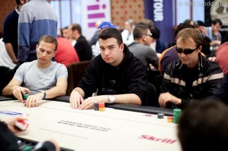 El Día 1A del PokerStars.com EPT de Praga finaliza: Beslan lidera y Cortés le sigue de cerca