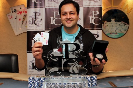 Sameer Rattonsey wins the IPC Main Event