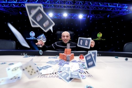 Danilo Donnini Emerges Victorious Over 482-Player Field at PokerStars IPT Campione