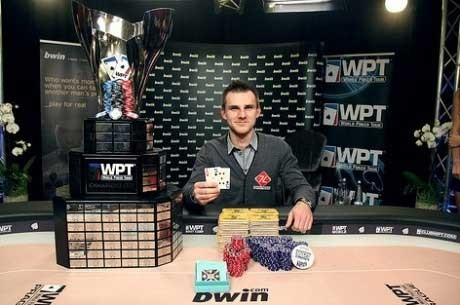 Andrey Pateychuk Osvojio 2011 World Poker Tour Prag Main Event