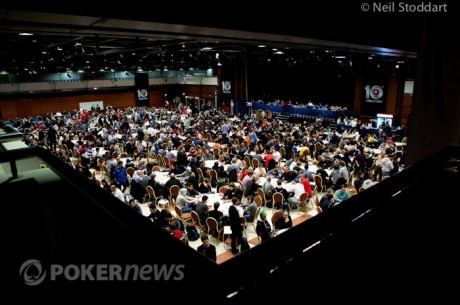 Pokerstars EPT Prague (LIVE) : Un Jour 1b record