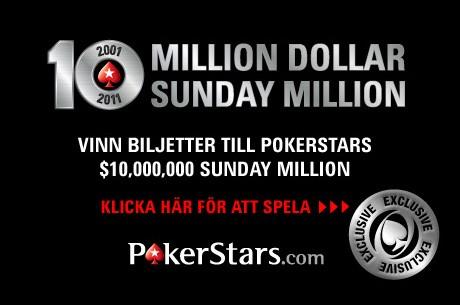 Vinn dig en plats i kommande $10M garanterat hos PokerStars