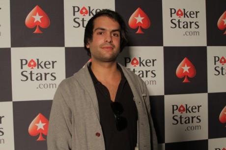 Main Event PokerStars Solverde Poker Season - Nuno Simões lidera no dia 1