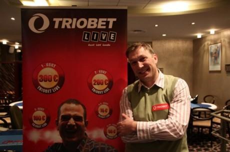 Triobet Live finaalturniiri võitis Aleksandr Kuperman
