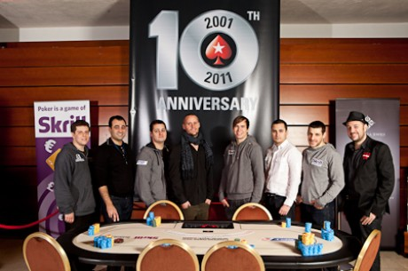 Українець Денис Дробина на фінальному столі PokerStars.com EPT Prague 2011