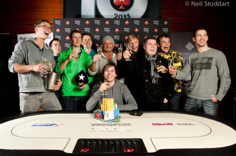 Ο Martin Finger κατακτά το 2011 PokerStars.com European Poker Tour Prague