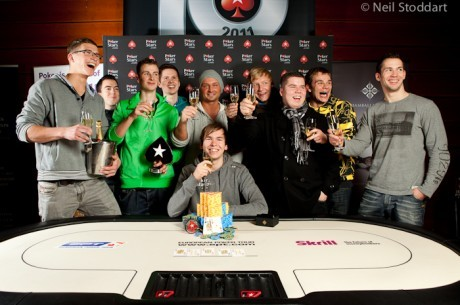 2011 PokerStars.com EPT Prague Day 5: Martin Finger Palms Another Trophy For the Germans