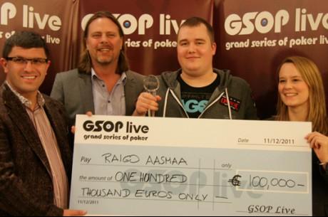 Raigo Aasmaa võitis GSOP Praha turniiri ja 80 000 eurot!