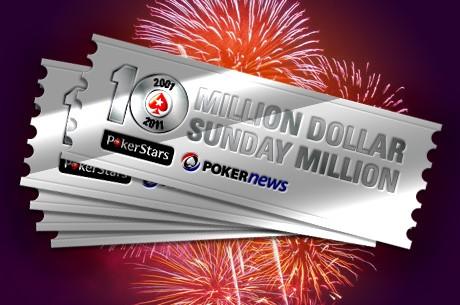 Sunday Million aastapäevaturniiri ennustusmäng