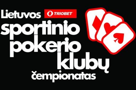 Lietuvos sportinio pokerio klubų čempionate – 24 komandos ir 5,000 žaidėjų!