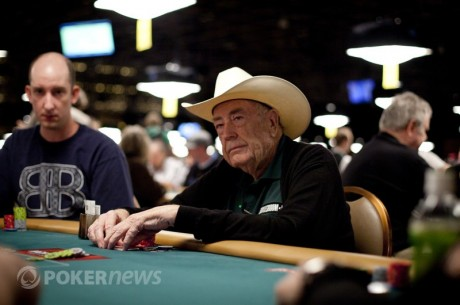 Epic Poker League Honors Doyle Brunson With Lifetime Membership Card
