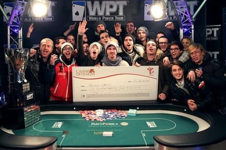 Эдоардо Aлeсиo выигрывает 2011 WPT в Венеции, Довженко...