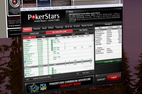 PokerStars с промени в рейк системата си за 2012