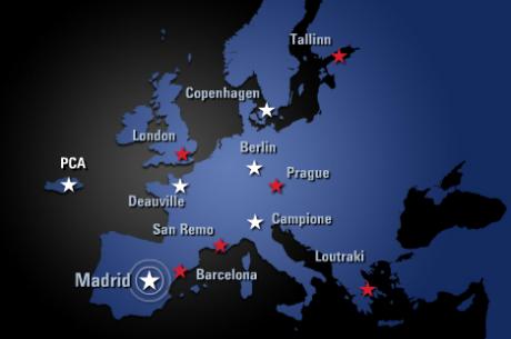 PokerStars обяви още три спирки от Сезон 8 на European Poker Tour