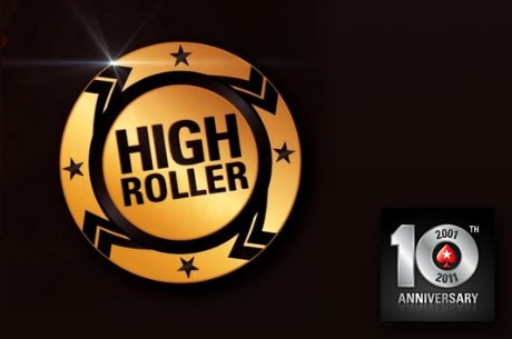 Finalni Sto $10.300 High Rollera za 10-ti Rodjendan PokerStarsa - VIDEO