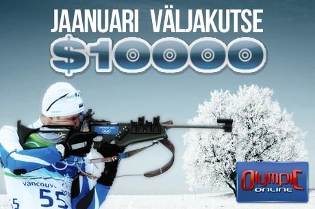 Olympic-Online uus aasta algab uue $10 000 väljakutsega