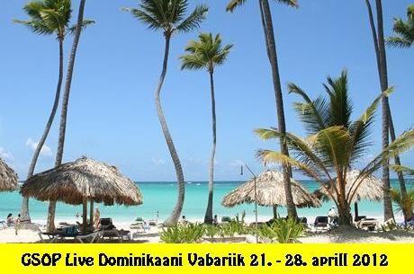Võida GSOP Live $6000 pakett Dominikaani Vabariiki