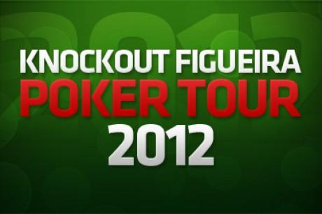 Miguel Brito é o chipleader do Dia 1 do KnockOut Figueira Poker Tour