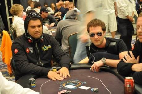 João Nunes e José Quintas no dia 3 do PokerStars Caribbean Adventure