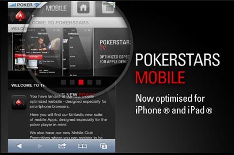 PokerStars presenta una aplicación para jugar con dinero real desde dispositivos móviles