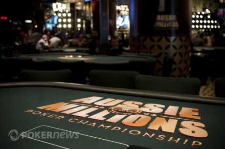 Aussie Millions 2012 - Event #1, Dzień 1a: Tam Truong liderem; Pozostało 34 graczy