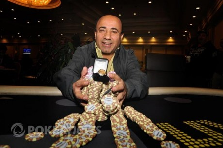 Freddy Deeb Wins World Series of Poker Circuit Bicycle Casino Main Event
