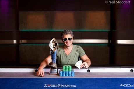Leonid Bilokur vant 2012 PCA High Roller