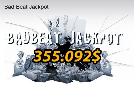 La red Merge da un Bad Beat Jackpot de más de 1 millón de dólares