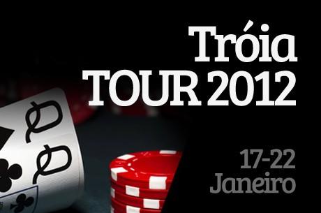 A primeira etapa do Tróia Tour 2012 arranca hoje