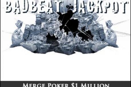 Merge 发放$1,000,000 Bad Beat 累计奖池