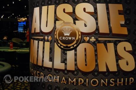 """""""Aussie Millions"""" apžvalga: Tyronas Krostas - Auksinio bilieto savininkas ir kita"""