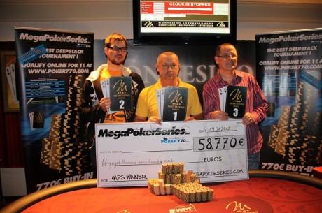 """Justas Semaška tarp laimėtojų """"Mega Poker Series"""" Vienoje (Atnaujinta)"""