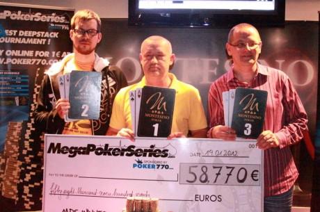 Bagó Csaba nyerte a bécsi Mega Poker Series főversenyét!
