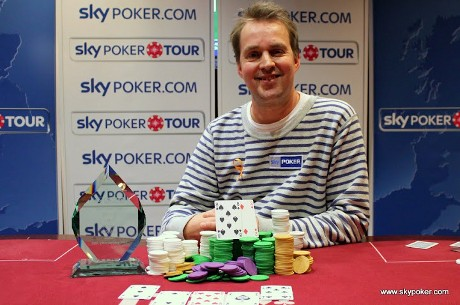 Julian Thew Wins SkyPoker Tour Luton Main Event