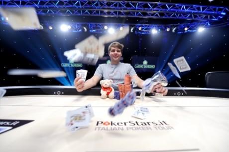 IPT San Remo: histórico doblete de Oleksii Kovalchuk