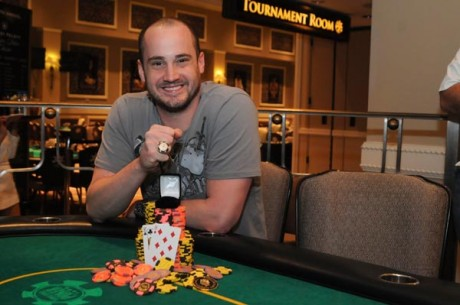 Kevin Calenzo Wins World Series of Poker Circuit Caesars Palace Main Event