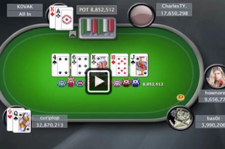 PokerStars Sunday Million финална маса с участието на K0VAK