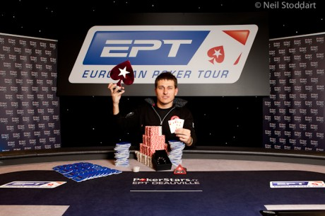 Vadzim Kursevich vence o Main Event do PokerStars.fr EPT Deauville 2012