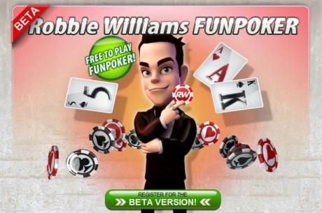 Робби Уильямс открыл свой собственный покер-рум