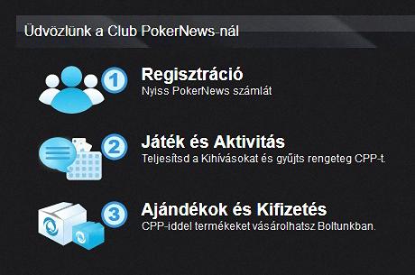 Club PokerNews címen, először Magyarországon elindult a PokerNews VIP programja!
