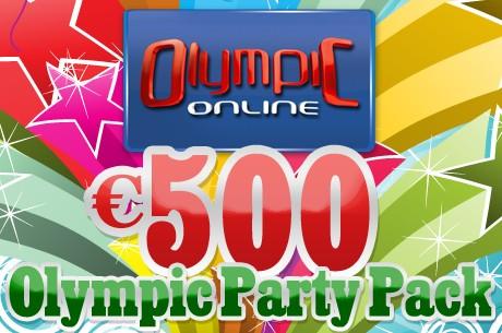 Võida vinge peopakett Olympic-Online sünnipäevaturniirilt