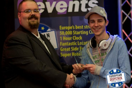 Jason Tompkins Wins European Deepstack High Roller Event