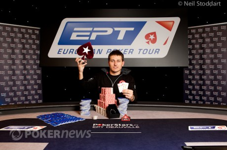 Global Poker Index: EPT Deauville Winner Vadzim Kursevich Sees Biggest Rise Up the GPI