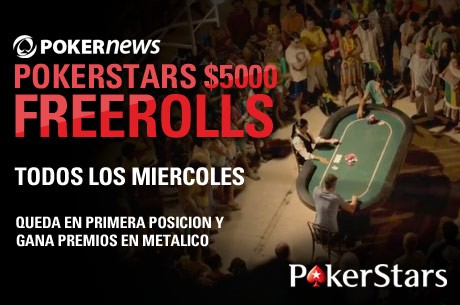 Participa en la Freeroll Series de PokerNews en PokerStars con 67.500$ en juego