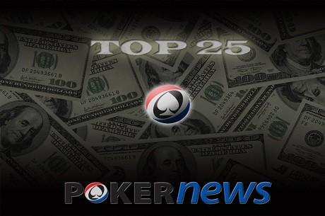 Новая рубрика на RU.PokerNews.com - ТОП 25 лучших русских МТТ...
