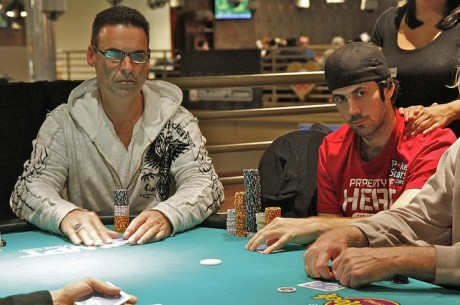 2012 World Poker Tour Lucky Hearts Poker Open Day 1a: Mercier Fast out of the Gate