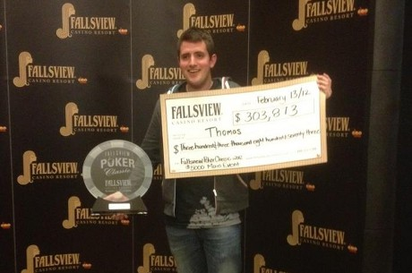 Nicky Evans and Tom Middleton Clean Up At Fallsview Poker Classic