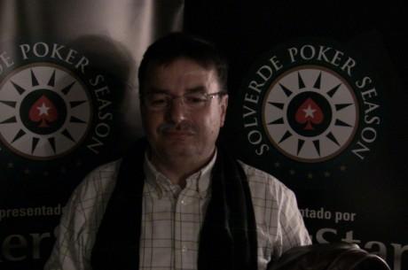 PokerStars Solverde Poker Season: Manuel Miranda continua chipleader