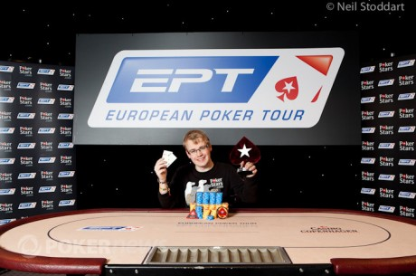 Ο Mickey Petersen είναι ο νικητής του PokerStars.com European Poker Tour...